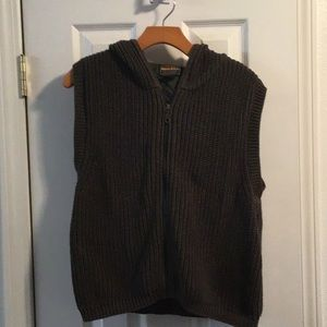 Woolrich hooded sweater vest